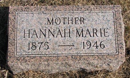 ANDERSEN, HANNAH MARIE - Burt County, Nebraska | HANNAH MARIE ANDERSEN - Nebraska Gravestone Photos