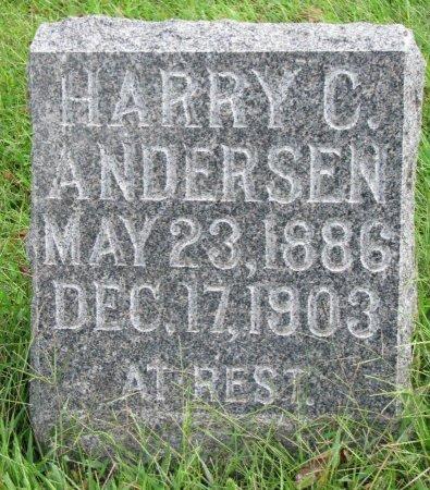 ANDERSEN, HARRY C. - Burt County, Nebraska   HARRY C. ANDERSEN - Nebraska Gravestone Photos