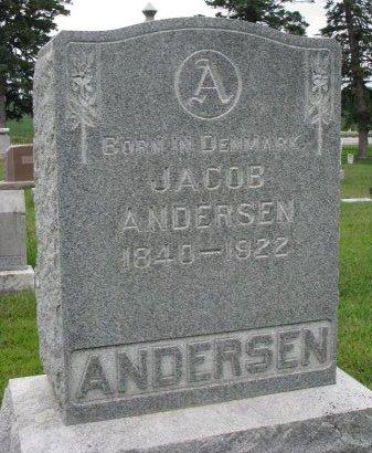 ANDERSEN, JACOB - Burt County, Nebraska   JACOB ANDERSEN - Nebraska Gravestone Photos