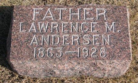 ANDERSEN, LAWRENCE M. - Burt County, Nebraska   LAWRENCE M. ANDERSEN - Nebraska Gravestone Photos