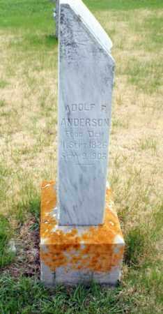ANDERSON, ADOLPH F. - Burt County, Nebraska | ADOLPH F. ANDERSON - Nebraska Gravestone Photos