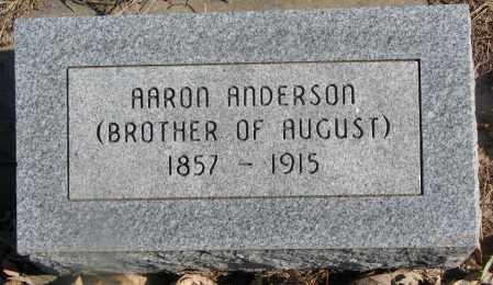 ANDERSON, AARON - Burt County, Nebraska | AARON ANDERSON - Nebraska Gravestone Photos