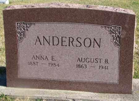 ANDERSON, ANNA E. - Burt County, Nebraska | ANNA E. ANDERSON - Nebraska Gravestone Photos