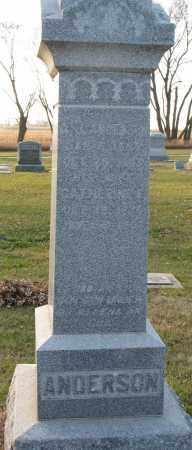 ANDERSON, CATHERINE E. - Burt County, Nebraska | CATHERINE E. ANDERSON - Nebraska Gravestone Photos