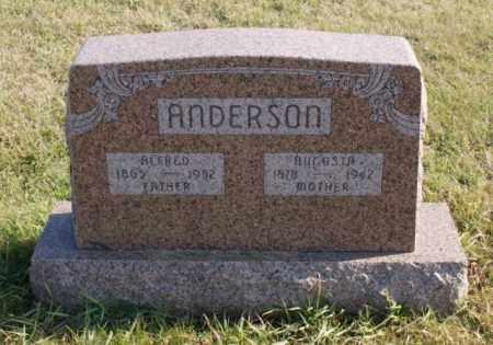 ANDERSON, ALFRED - Burt County, Nebraska | ALFRED ANDERSON - Nebraska Gravestone Photos