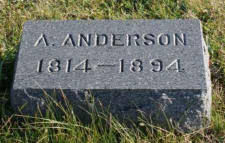 ANDERSON, A. - Burt County, Nebraska | A. ANDERSON - Nebraska Gravestone Photos