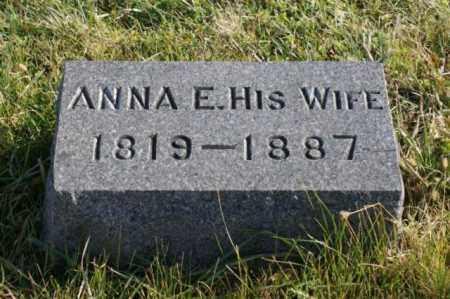 ANDERSON, ANNA E. - Burt County, Nebraska   ANNA E. ANDERSON - Nebraska Gravestone Photos