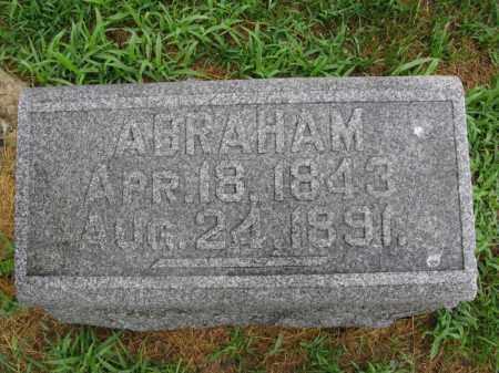 ANDERSON, ABRAHAM - Burt County, Nebraska | ABRAHAM ANDERSON - Nebraska Gravestone Photos