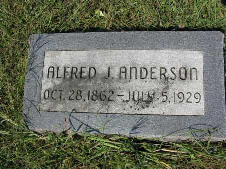 ANDERSON, ALFRED J. - Burt County, Nebraska | ALFRED J. ANDERSON - Nebraska Gravestone Photos