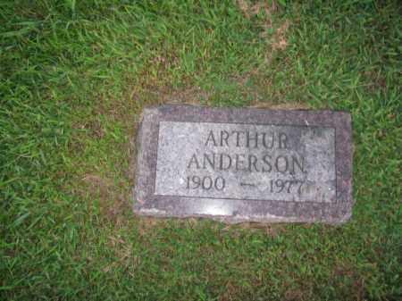 ANDERSON, ARTHUR - Burt County, Nebraska | ARTHUR ANDERSON - Nebraska Gravestone Photos