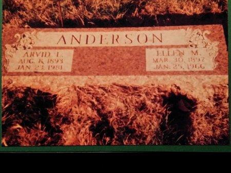ANDERSON, ELLEN (MARIE) - Burt County, Nebraska   ELLEN (MARIE) ANDERSON - Nebraska Gravestone Photos