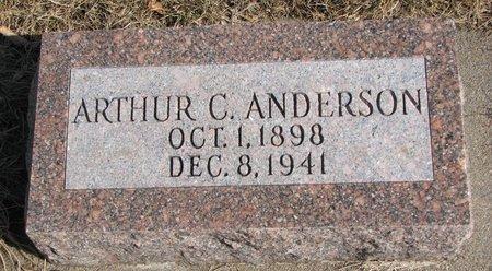 ANDERSON, ARTHUR C. - Burt County, Nebraska   ARTHUR C. ANDERSON - Nebraska Gravestone Photos