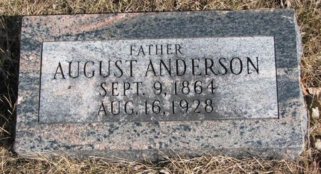 ANDERSON, AUGUST - Burt County, Nebraska | AUGUST ANDERSON - Nebraska Gravestone Photos