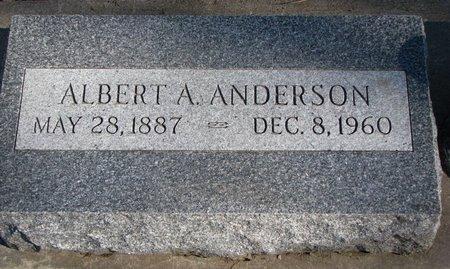ANDERSON, ALBERT A. - Burt County, Nebraska | ALBERT A. ANDERSON - Nebraska Gravestone Photos