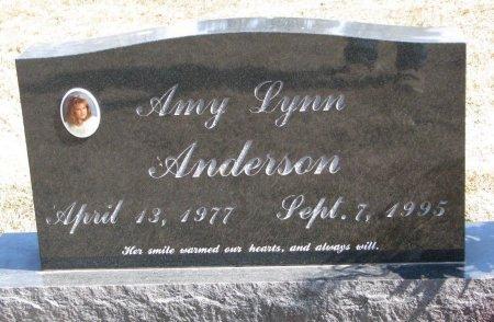 ANDERSON, AMY LYNN - Burt County, Nebraska | AMY LYNN ANDERSON - Nebraska Gravestone Photos
