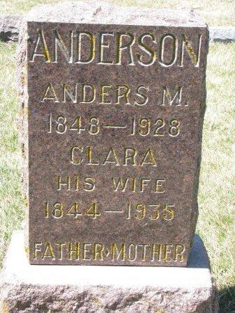 ANDERSON, ANDERS M. - Burt County, Nebraska | ANDERS M. ANDERSON - Nebraska Gravestone Photos