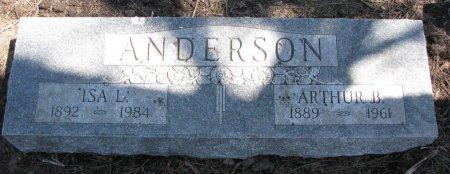 ANDERSON, ISA L. - Burt County, Nebraska | ISA L. ANDERSON - Nebraska Gravestone Photos