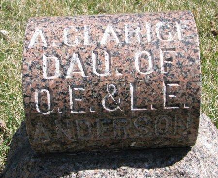 ANDERSON, A. CLARICE #1 - Burt County, Nebraska   A. CLARICE #1 ANDERSON - Nebraska Gravestone Photos