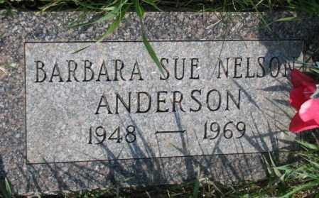 ANDERSON, BARBARA SUE - Burt County, Nebraska | BARBARA SUE ANDERSON - Nebraska Gravestone Photos