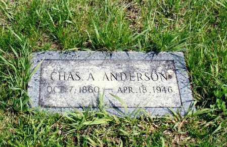 ANDERSON, CHAS A. - Burt County, Nebraska | CHAS A. ANDERSON - Nebraska Gravestone Photos