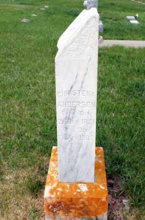 ANDERSON, CHRISTENA - Burt County, Nebraska   CHRISTENA ANDERSON - Nebraska Gravestone Photos
