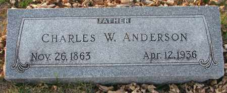 ANDERSON, CHARLES W. - Burt County, Nebraska | CHARLES W. ANDERSON - Nebraska Gravestone Photos
