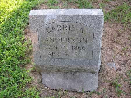 ANDERSON, CARRIE A. - Burt County, Nebraska | CARRIE A. ANDERSON - Nebraska Gravestone Photos
