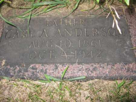 ANDERSON, CARL A. - Burt County, Nebraska   CARL A. ANDERSON - Nebraska Gravestone Photos