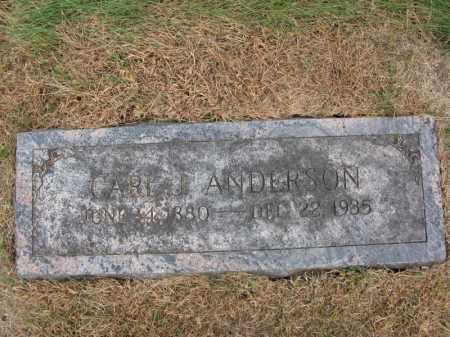 ANDERSON, CARL J. - Burt County, Nebraska   CARL J. ANDERSON - Nebraska Gravestone Photos