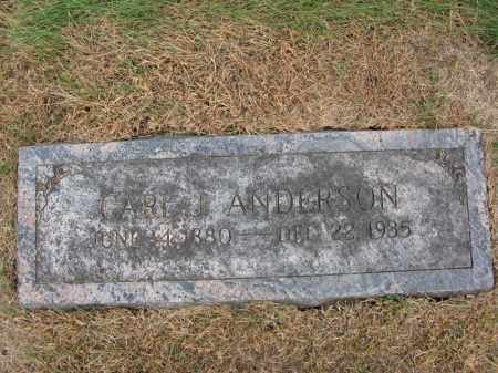 ANDERSON, CARL J. - Burt County, Nebraska | CARL J. ANDERSON - Nebraska Gravestone Photos