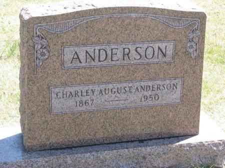 ANDERSON, CHARLEY AUGUST - Burt County, Nebraska | CHARLEY AUGUST ANDERSON - Nebraska Gravestone Photos