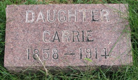 ANDERSON, CARRIE - Burt County, Nebraska | CARRIE ANDERSON - Nebraska Gravestone Photos