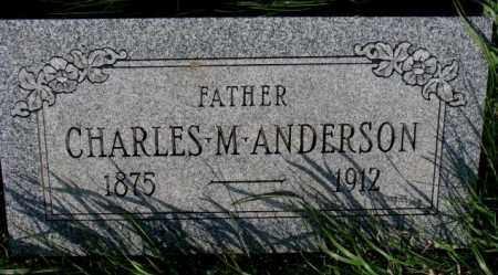 ANDERSON, CHARLES M. - Burt County, Nebraska   CHARLES M. ANDERSON - Nebraska Gravestone Photos