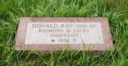 ANDERSON, DONALD RAY - Burt County, Nebraska | DONALD RAY ANDERSON - Nebraska Gravestone Photos