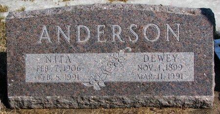 ANDERSON, DEWEY - Burt County, Nebraska | DEWEY ANDERSON - Nebraska Gravestone Photos