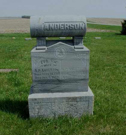 ANDERSON, A. P. - Burt County, Nebraska | A. P. ANDERSON - Nebraska Gravestone Photos