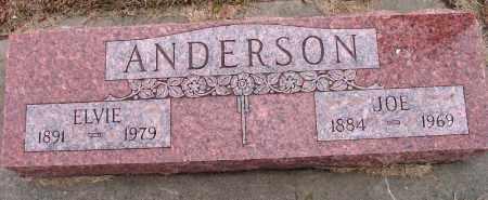 ANDERSON, ELVIE - Burt County, Nebraska | ELVIE ANDERSON - Nebraska Gravestone Photos