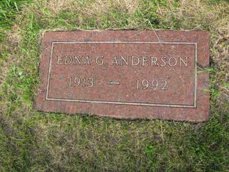 ANDERSON, EDNA G. - Burt County, Nebraska | EDNA G. ANDERSON - Nebraska Gravestone Photos