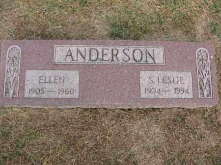 ANDERSON, ELLEN - Burt County, Nebraska | ELLEN ANDERSON - Nebraska Gravestone Photos