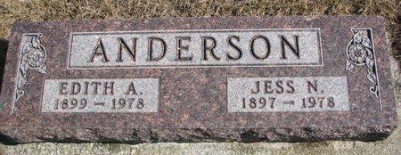 ANDERSON, EDITH A. - Burt County, Nebraska | EDITH A. ANDERSON - Nebraska Gravestone Photos