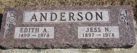 ANDERSON, EDITH A. - Burt County, Nebraska | EDITH A. ANDERSON - Nebraska Gravestone Photos