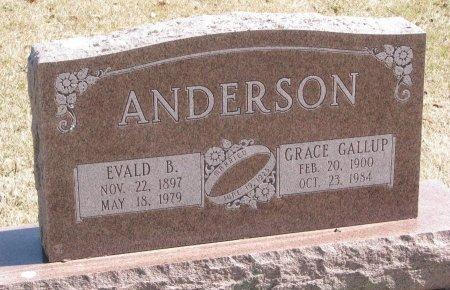 GALLUP ANDERSON, GRACE - Burt County, Nebraska   GRACE GALLUP ANDERSON - Nebraska Gravestone Photos