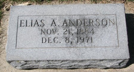 ANDERSON, ELIAS A. - Burt County, Nebraska | ELIAS A. ANDERSON - Nebraska Gravestone Photos