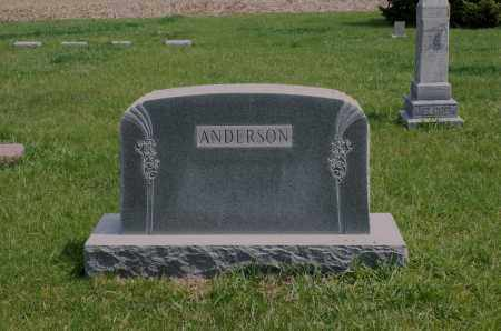 ANDERSON, FAMILY - Burt County, Nebraska | FAMILY ANDERSON - Nebraska Gravestone Photos