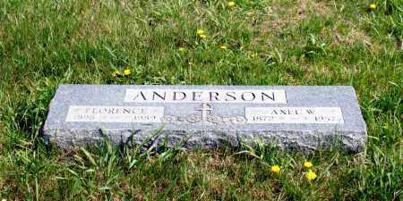 ANDERSON, AXEL W. - Burt County, Nebraska | AXEL W. ANDERSON - Nebraska Gravestone Photos