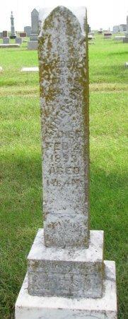 ANDERSON, FREDDIE - Burt County, Nebraska   FREDDIE ANDERSON - Nebraska Gravestone Photos