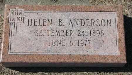 ANDERSON, HELEN B. - Burt County, Nebraska | HELEN B. ANDERSON - Nebraska Gravestone Photos