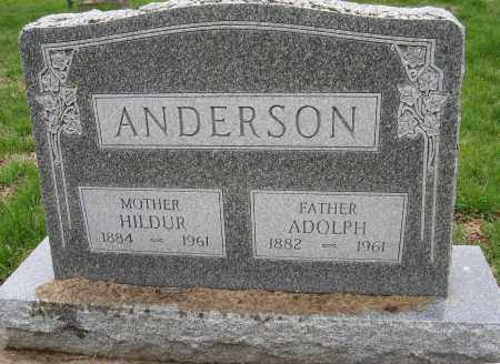 ANDERSON, ADOLPH - Burt County, Nebraska | ADOLPH ANDERSON - Nebraska Gravestone Photos