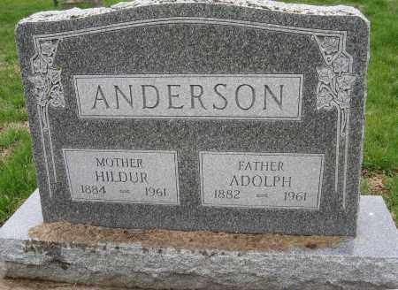 ANDERSON, HILDUR - Burt County, Nebraska | HILDUR ANDERSON - Nebraska Gravestone Photos