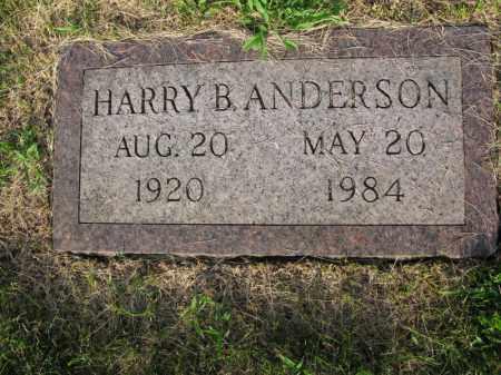 ANDERSON, HARRY B. - Burt County, Nebraska | HARRY B. ANDERSON - Nebraska Gravestone Photos